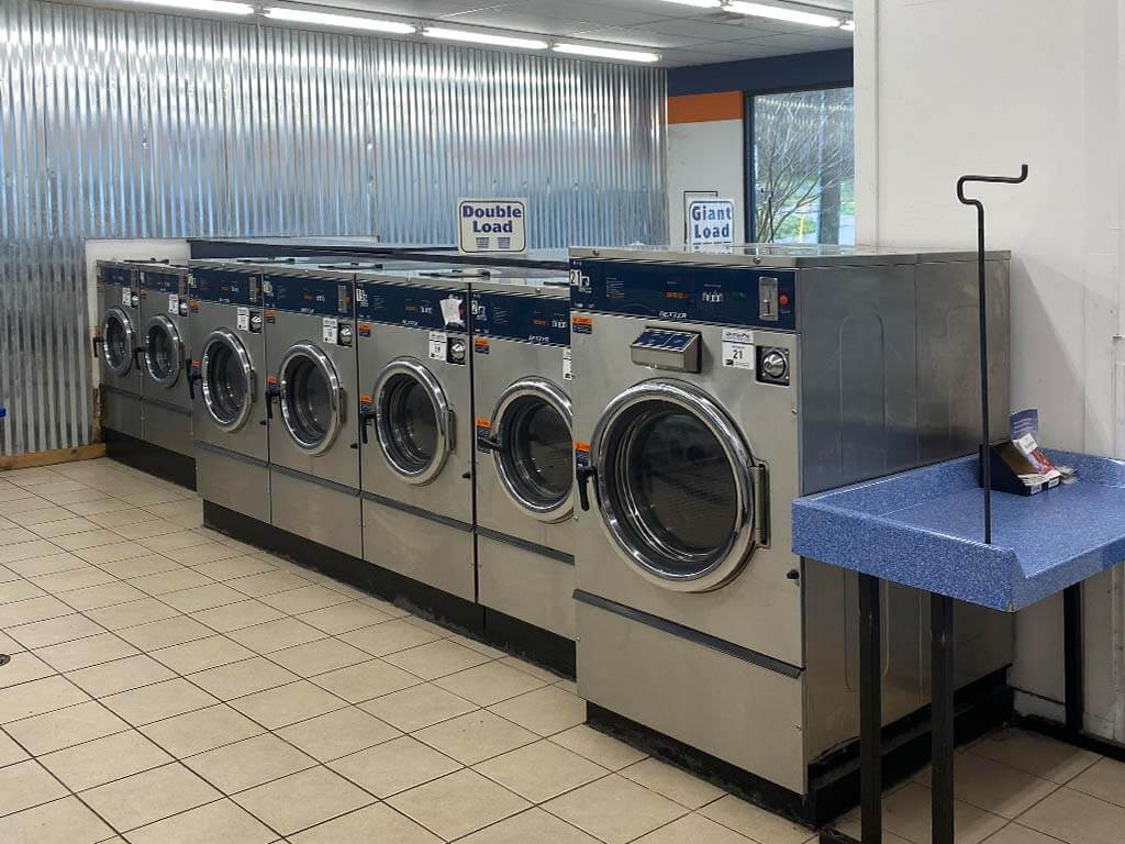 daniel lake stainless steel coin laundry
